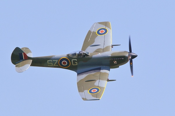 spitfire by colin beeley