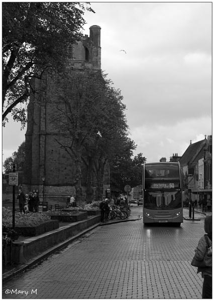 Rain & Bus