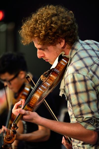 Jan Bislin - violinist by DouglasMorley