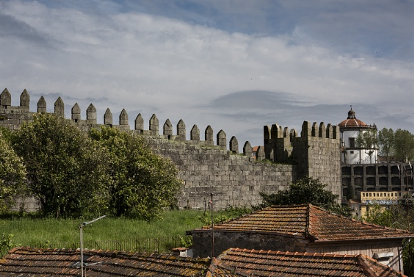 Old City Wall, Porto, Portugal. by jon07wilson