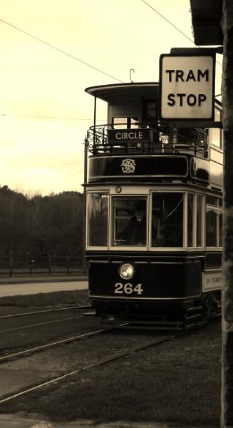 Tram stop by kevlense