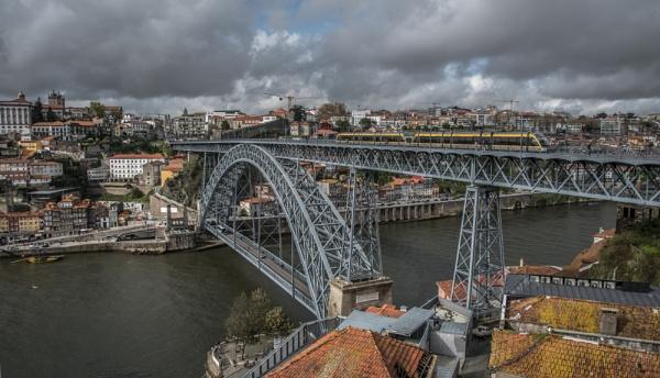 Ponte de D.Luis, Porto by jacomes