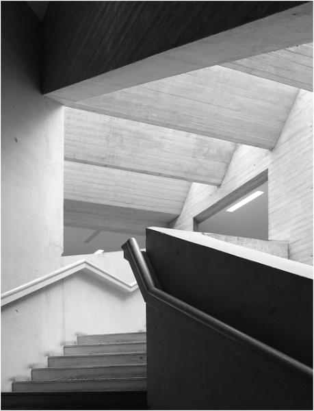 Mostyn Gallery Stairwell by BigAlKabMan