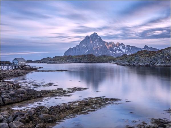 Vagakellen from Kabelvag, Lofoten by Leedslass1