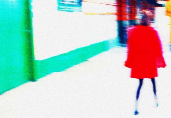 Muchacha en rojo. by femape