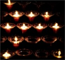 Votive candles by KingBee