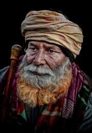 Pilgrim in Haridwar Har-ki-Pauri