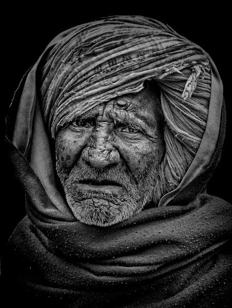 Camel herdsman of Rajasthan 2 by sawsengee