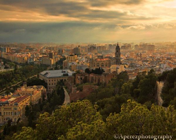 Malaga Sunset by Houndog18
