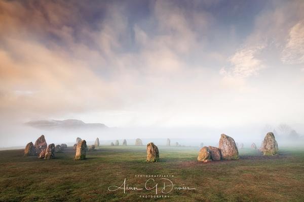 Beneath the morning mist by Tynnwrlluniau