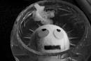 Floating rolly eye emoji