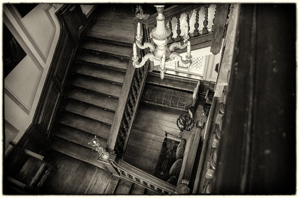 Grand Staircase - Kentwell Hall by NevJB