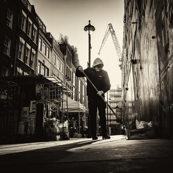 street cleaner by mogobiker