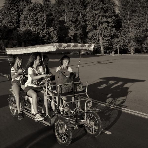 quartet ride by leo_nid