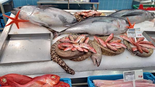 Fish Market -TENERIFE by PhotoHeritage