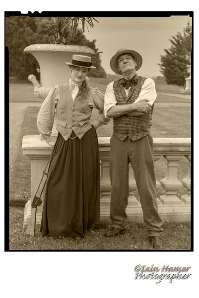 Annie Oakley and friend by IainHamer