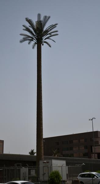 Modern Mobile Tower - Jeddah, Saudi Arabia by aliathik