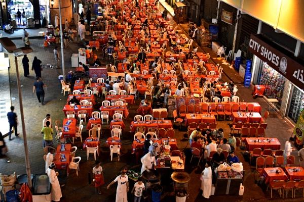 Ramadan Special Food Stall in Jeddah by aliathik