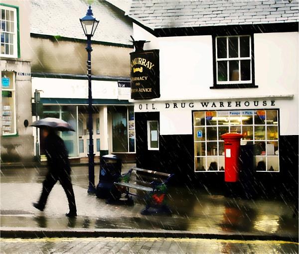 Ulverston in the rain by aitchbrown