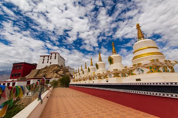 Theksay Monastery by Dead_habits
