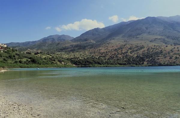 Lake Kourna, Crete by Silverzone