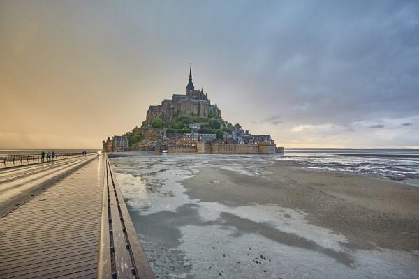 Mont Saint Michel by MVL