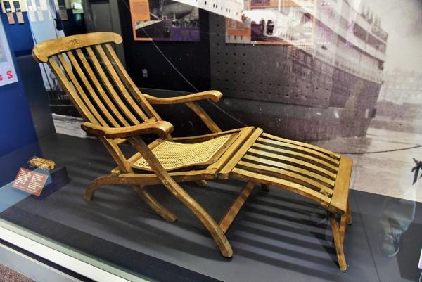 Titanic deckchair by djh698