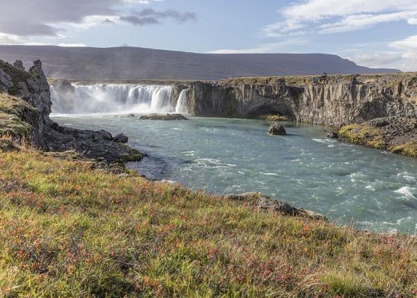 Goðafoss Waterfall, Iceland by pdunstan_Greymoon
