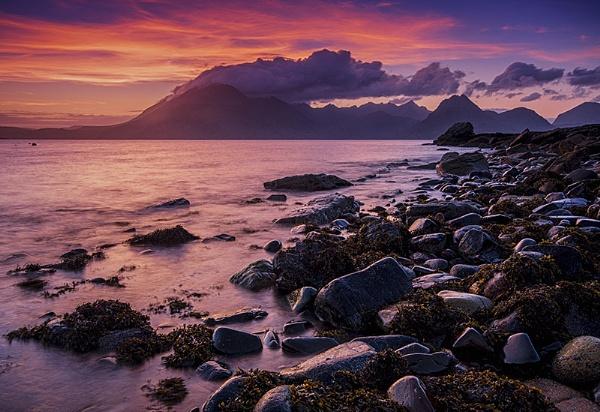 Elgol Sunset II by davelich