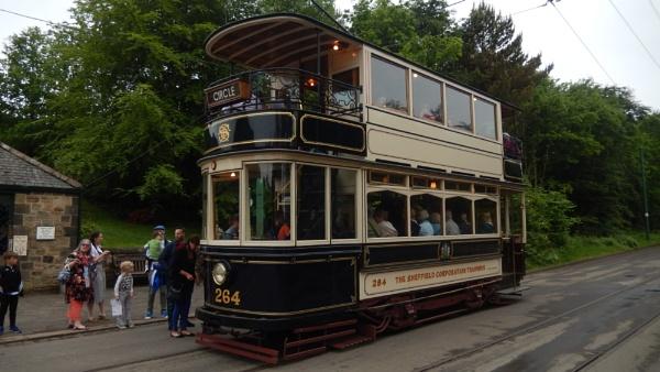 Beamish open air museum tram by jimbob133