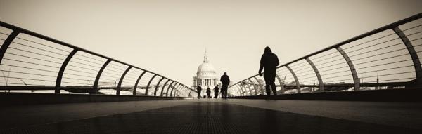 millennium bridge by mogobiker