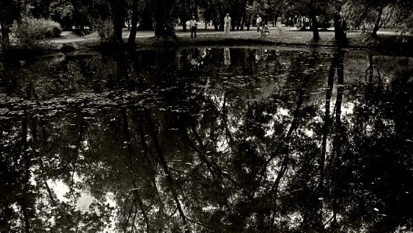 old pond by leo_nid