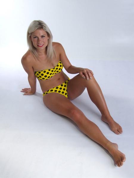 """Brian Hyland : \""""Itsy Bitsy Teenie Weenie Yellow Polka Dot Bikini\"""" (1960) by k_words"""