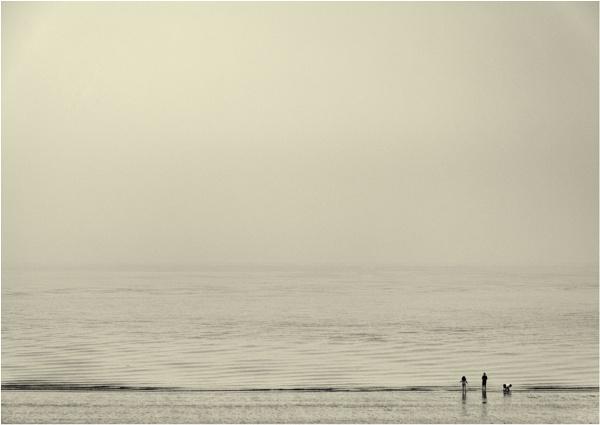 A misty morning by franken
