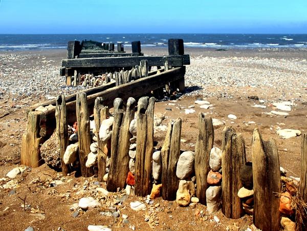Hunstanton Beach by helenlinda