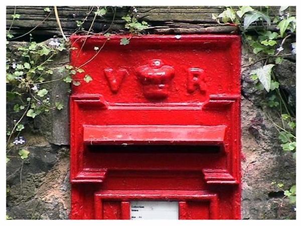 VICTORIAN POST BOX by JOKEN