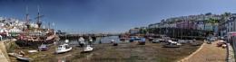 Brixham Harbour Pano