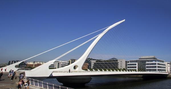 Samuel Beckett Bridge - Dublin by Irishkate
