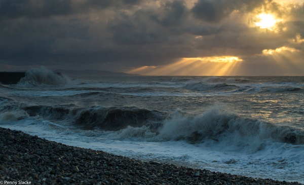 After the storm Lyme Regis by penny_slacke