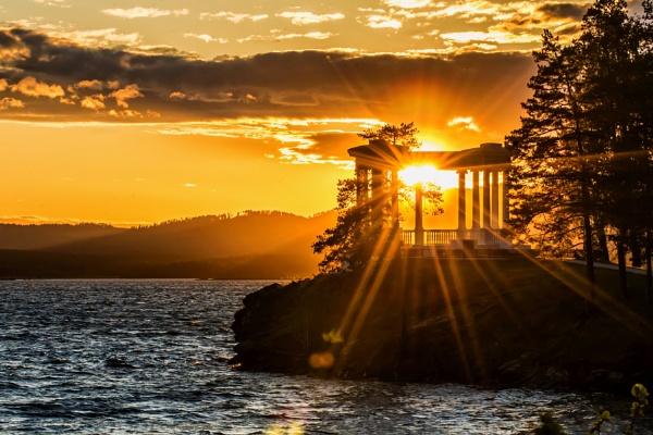summer sunset by zdumus