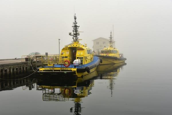 A foggy day in Halifax by djh698