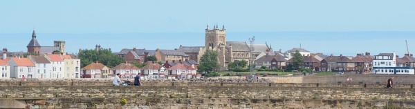 St Hildas Church and Headland by DaveRyder
