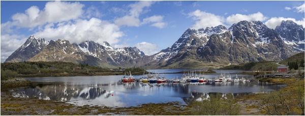 Austnesfjorden Lofoten Islands by Leedslass1