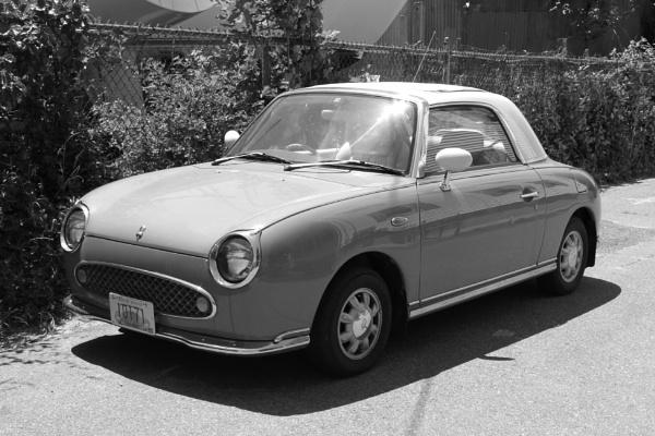 "~ \""1991 Figaro (Nissan)\"" by LexEquine"