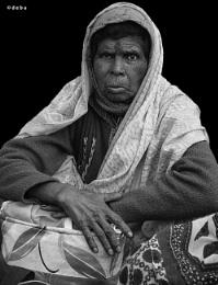 Hindu woman pilgrim