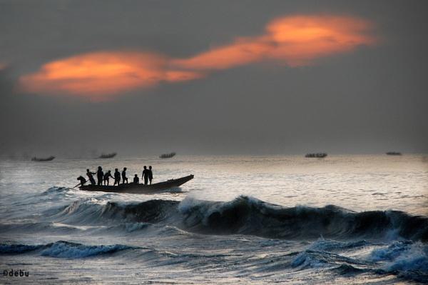 Deep sea fishing...2 by debu