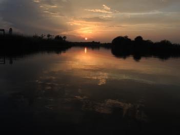 River Bure sunset