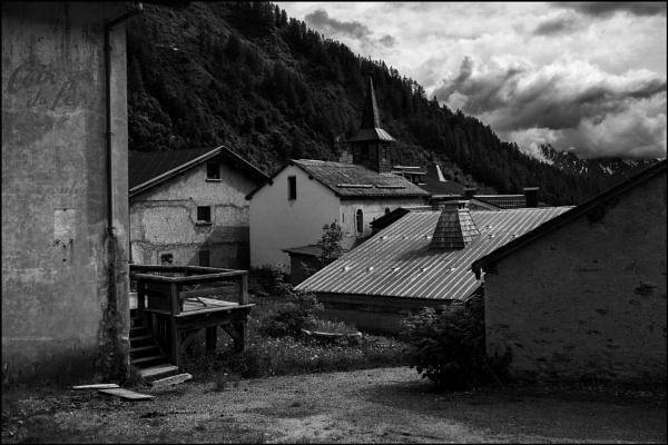 A View of Le Tour, Haute Savoie, France