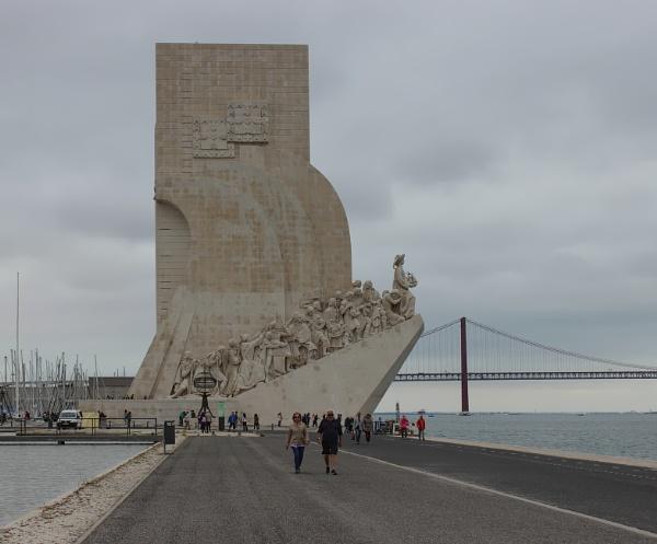 Padrao dos Descobrimentos Monument, Belem by canoncarol