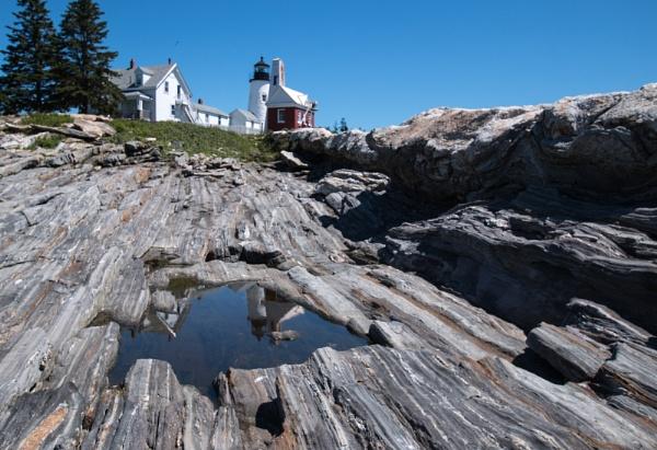 Pemaquid Lighthouse Maine by Janetdinah